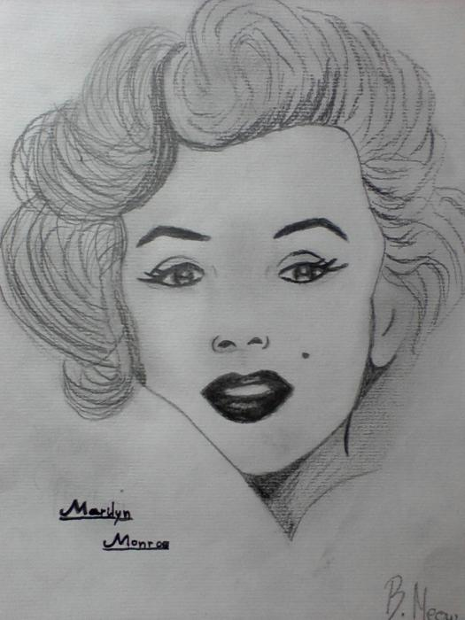 Marilyn Monroe por BreeMeow